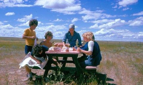 X-country crew - 1974